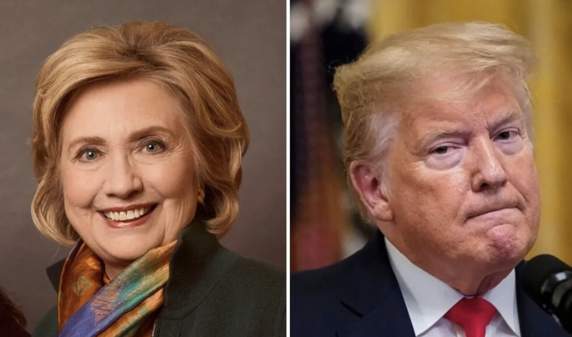 Hillary Just Perfectly Trolled Trump After He Tried to Go After Her in Rambling Response About Kamala Harris