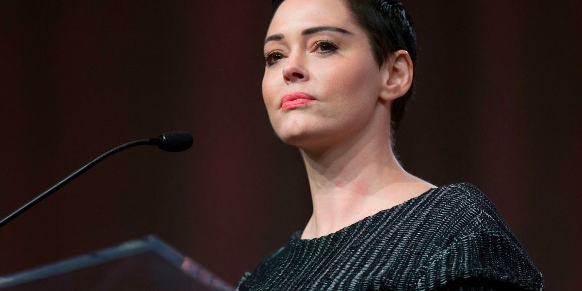 Rose McGowan calls out Kamala Harris for accepting past donations from 'predator' Harvey Weinstein