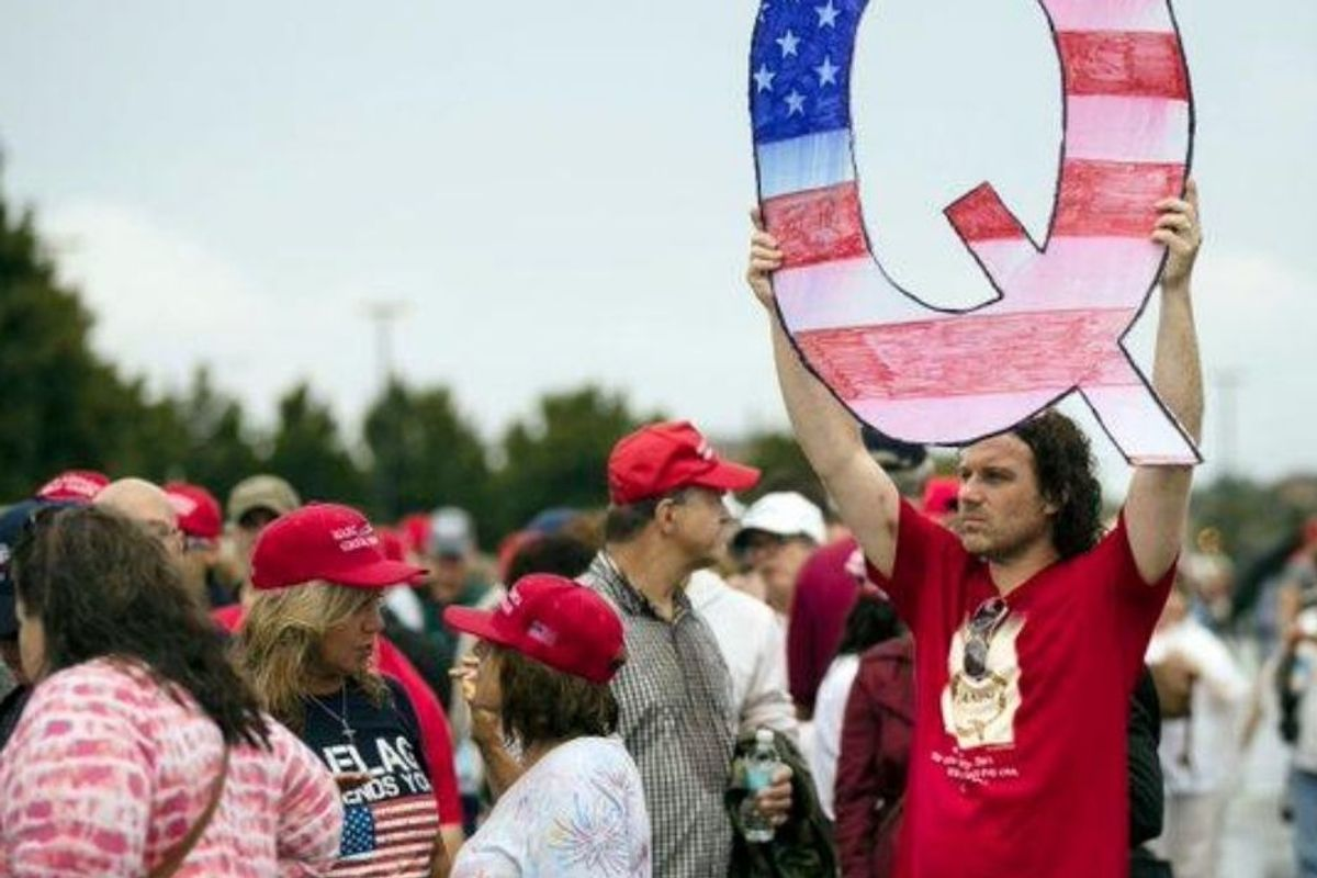 If you really want to #SaveTheChildren, stop sharing QAnon conspiracy theories