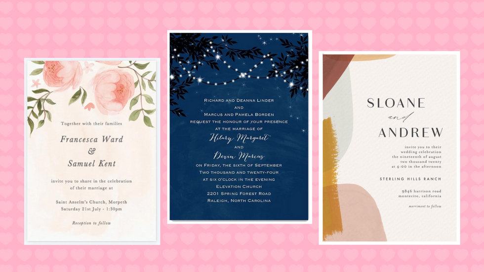 18 Websites That'll Make The Custom Wedding Invitations Of Your Dreams
