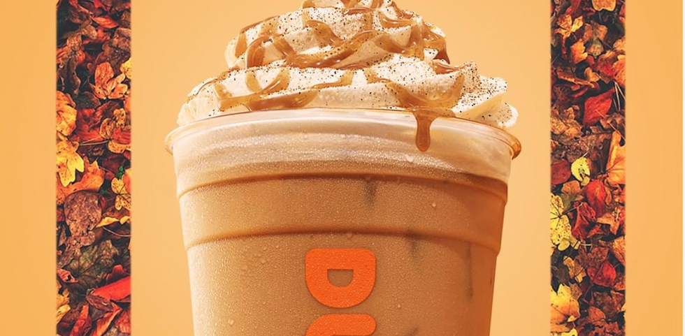 Move Over, Starbucks — Dunkin' Just Dropped Pumpkin Spice Lattes And I've Already FALLen For Them