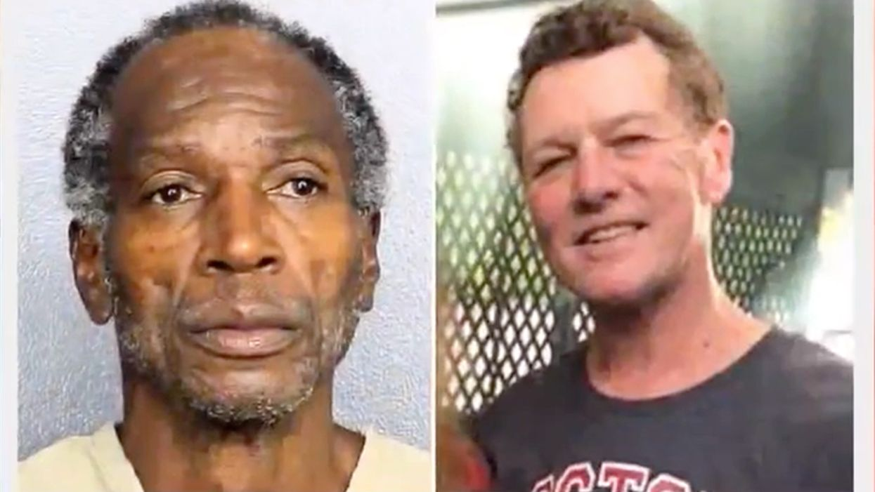 Family man reportedly stomped, stabbed to death by homeless convict while traveling. A racial justice group had put the suspect up in the hotel where the crime occurred.