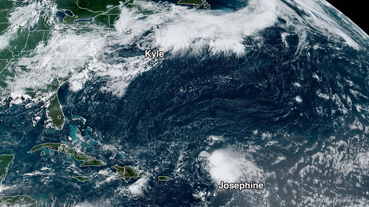 Tropical Storm Kyle Forms, Unlikely to Affect Land