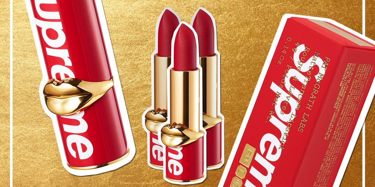Supreme Lipsticks Are Officially a Thing