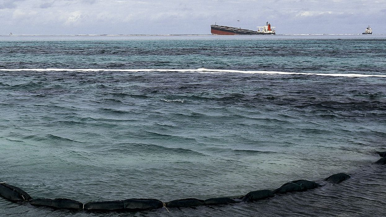 Japanese Tanker Splits in Two After Creating Environmental Disaster for Mauritius