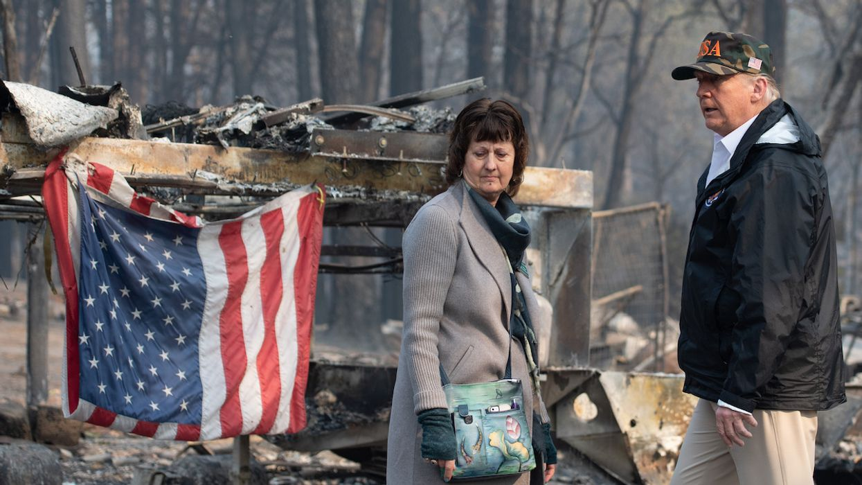 Trump Wanted to Withhold Wildfire Aid to California Over Political Differences, Former DHS Official Says