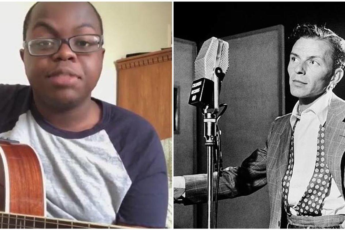 Texas teen added a 'Hamilton'-esque rap to Frank Sinatra's 'Fly Me to the Moon'