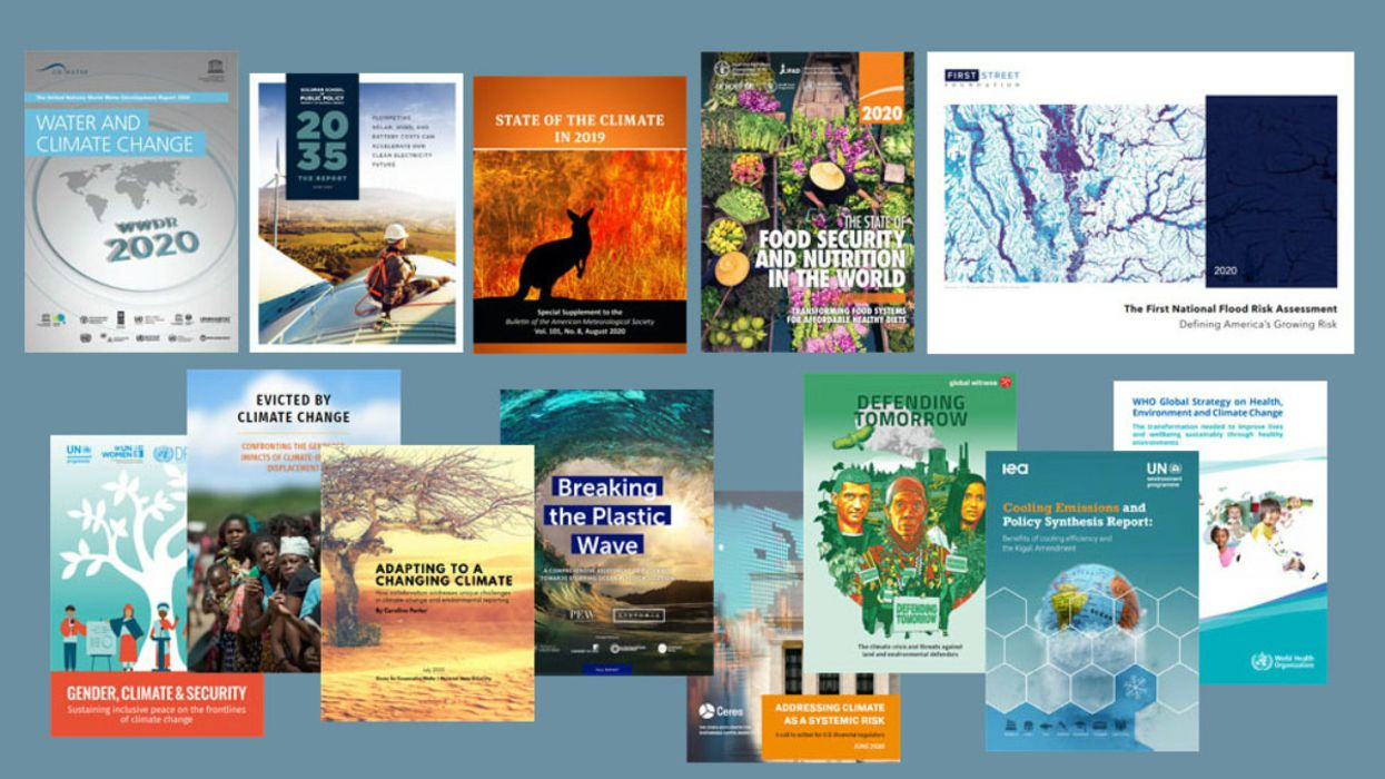 13 Must-Read Climate Change Reports for 2020