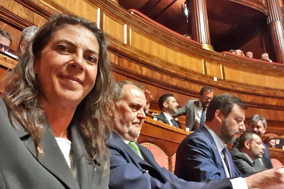 Senatrice leghista tra i furbetti. Il Carroccio la sospende dal partito