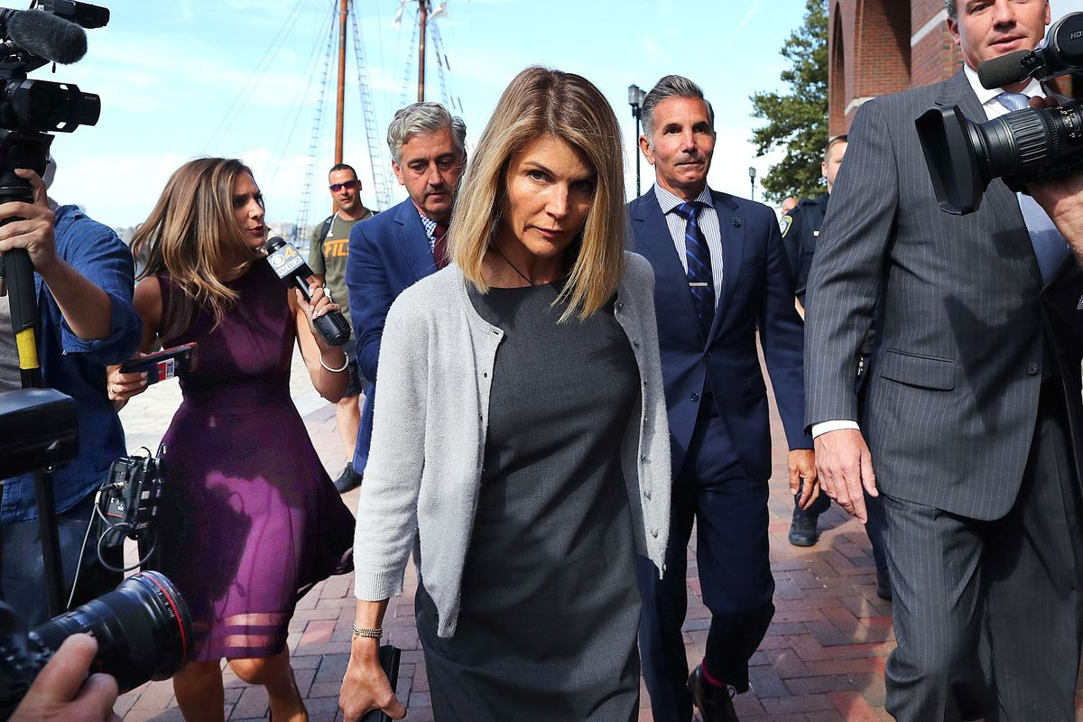 Lori Loughlin Sentenced to Two Months in Prison For College Admissions Scam