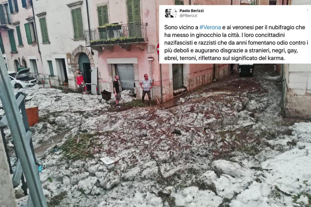 Firma di «Repubblica» fa lo sciacallo su Verona