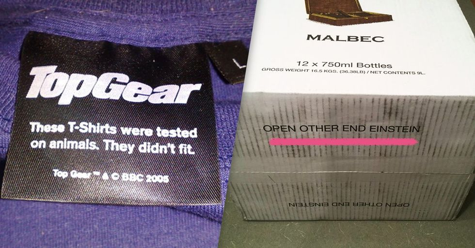 Hilarious Hidden Messages on Everyday Products