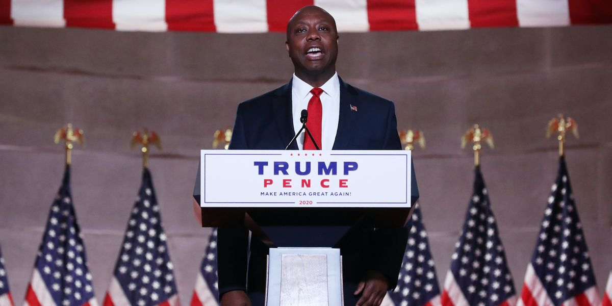 Sen. Tim Scott closes out first night of RNC with inspiring speech: 'Our family went from cotton to Congress in one lifetime'