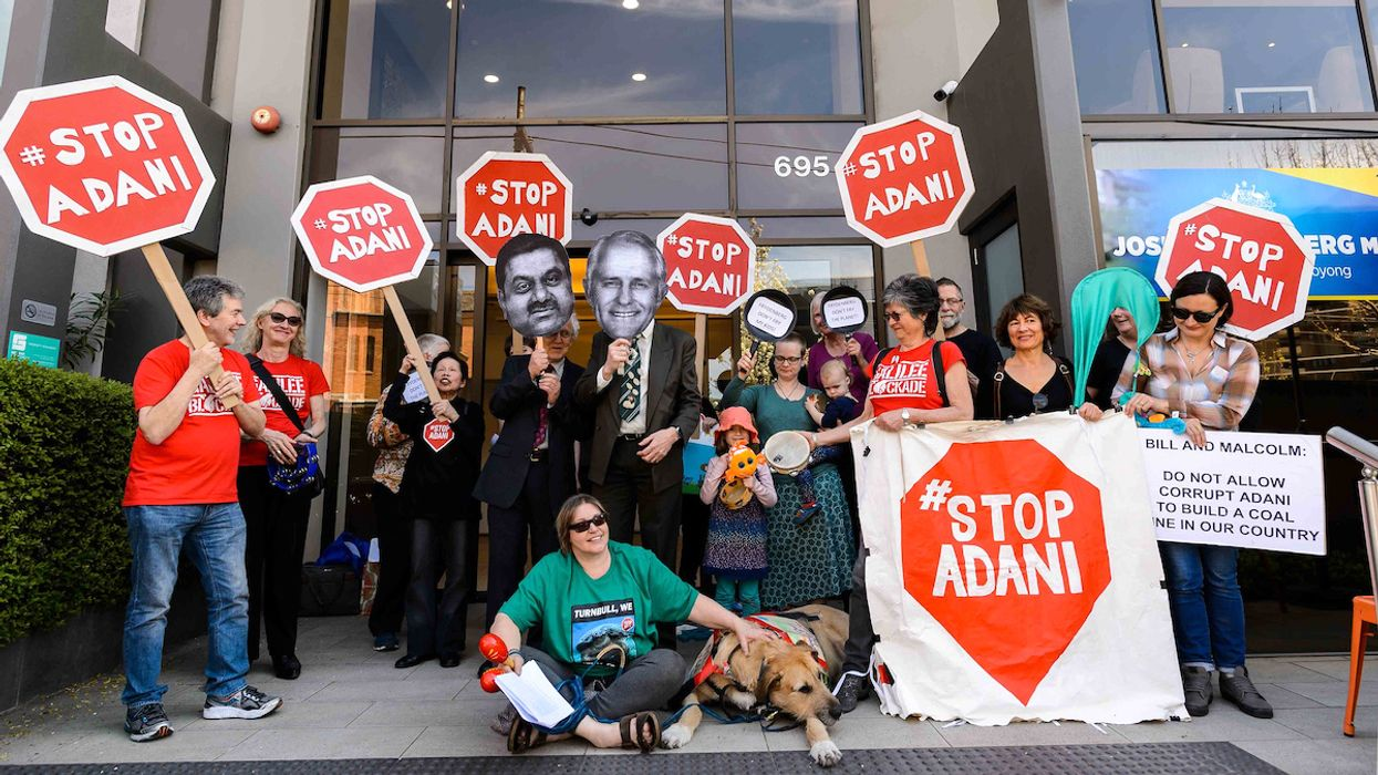 Adani Coal Company Attempted to Search Home of Activist Who Opposes Its Australian Mine