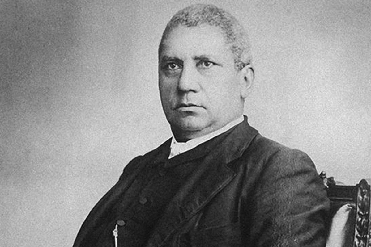 When the first Black senator elected in Georgia was expelled in 1868, he responded with a speech of thunderous defiance.