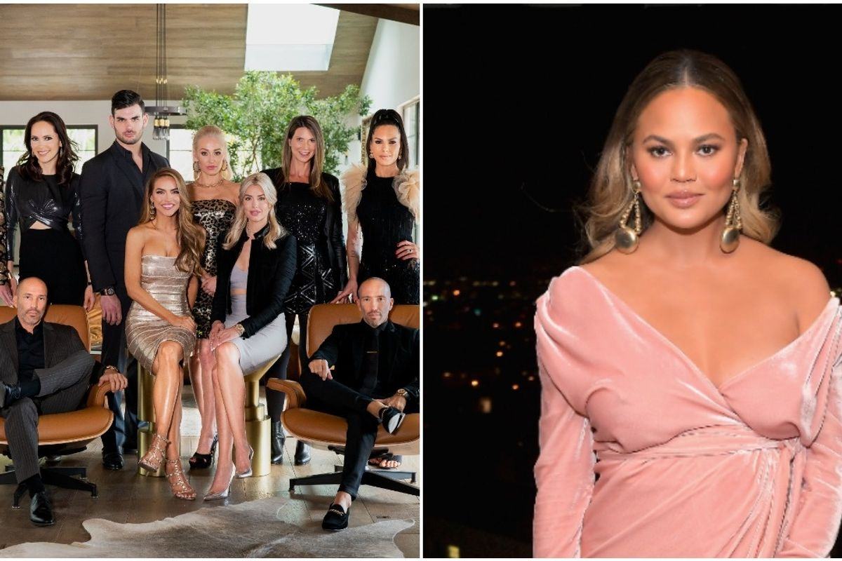 'Selling Sunset' Stars Respond to Chrissy Teigen Saying They Aren't Actual Realtors