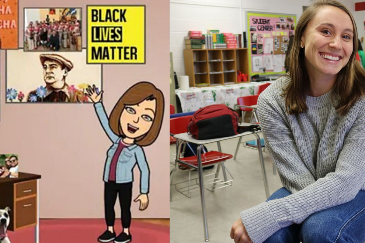 Texas teacher placed on leave after parents complained about her virtual 'Black Lives Matter' poster