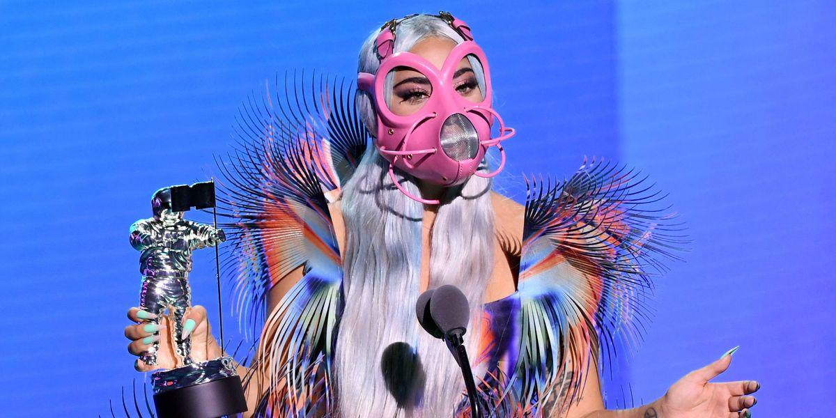 Lady Gaga Receives VMAs' First Ever Tricon Award