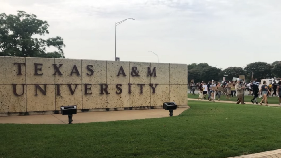 My College Banned Chalking, Proving The 'F' In Texas A&M Stands For 'Freedom'