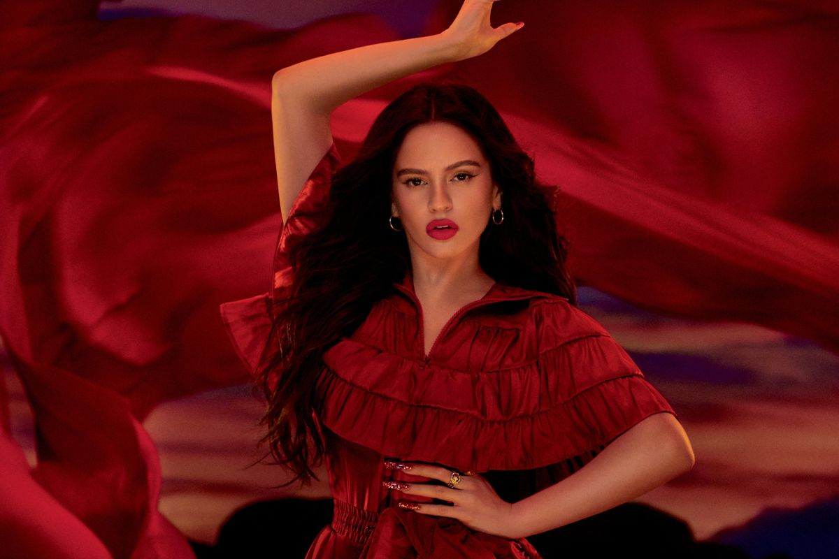 You Can Now Achieve Rosalía's Signature Red Lip