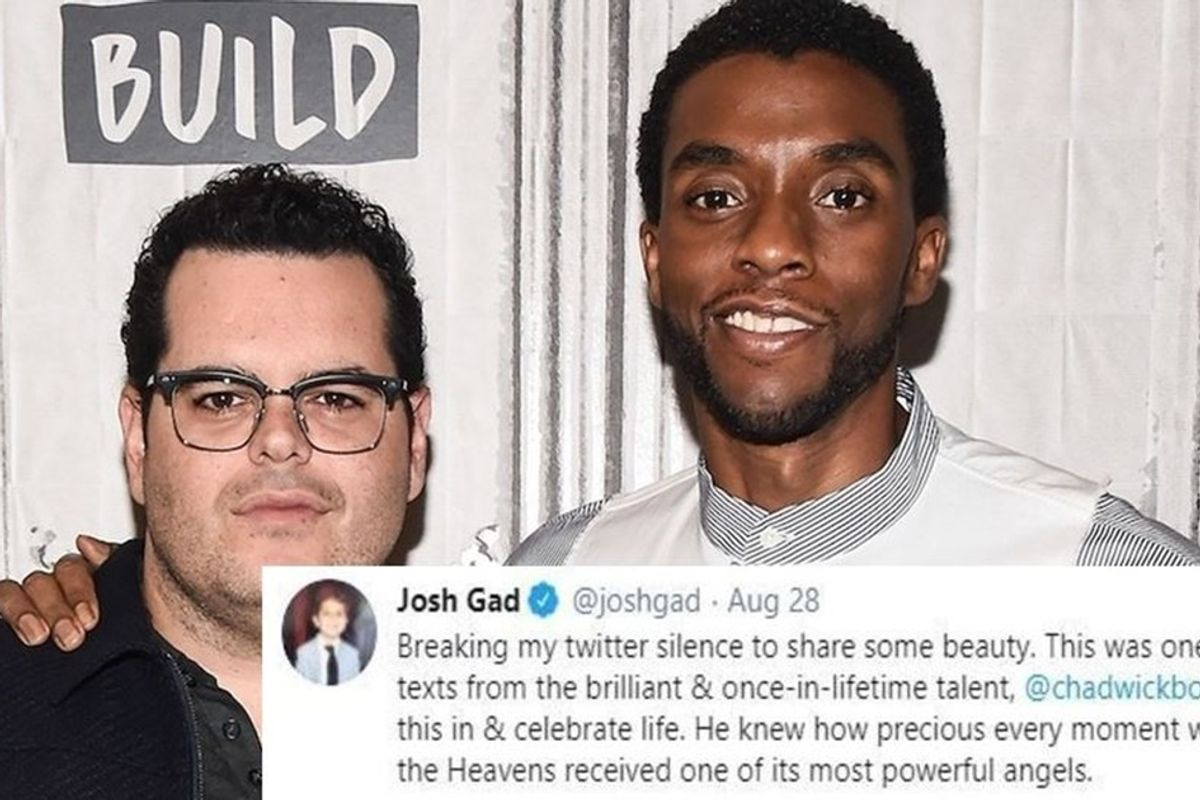 Josh Gad shares one of his final texts from Chadwick Boseman: 'He knew how precious every moment was'