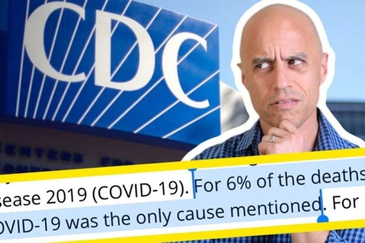The CDC says 6% of COVID deaths are only from COVID. Doctors explain what that really means.