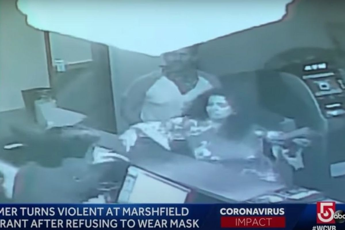 Off-Duty Massachusetts Cop And His Friends Trash Chinese Restaurant After Being Asked To Wear Masks