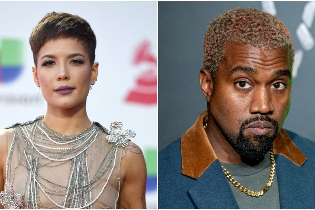 Halsey Appears to Ask Fans to Stop Joking About Kanye West's Mental Health