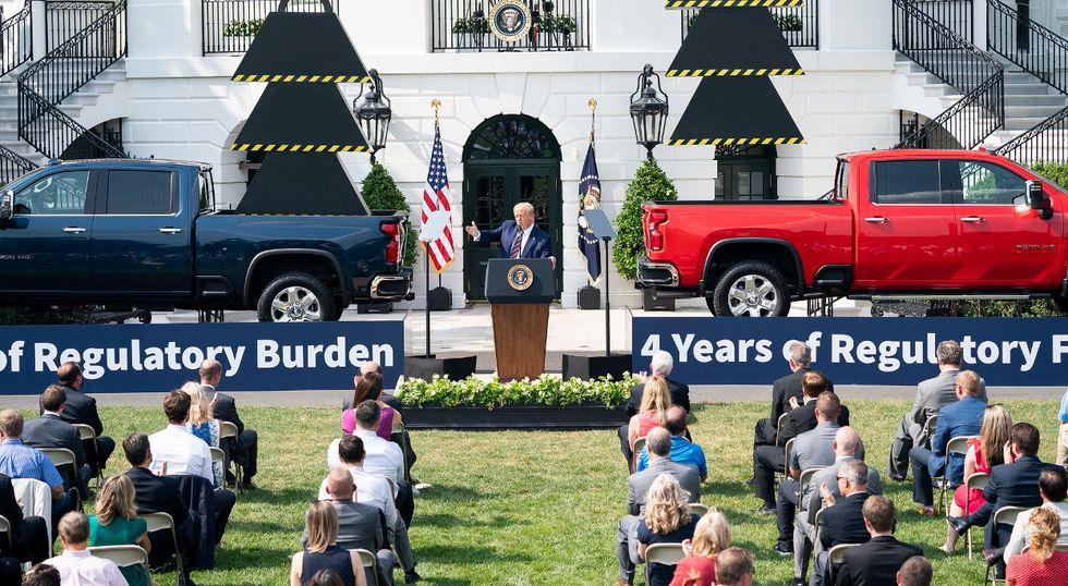 President Trump regulatory rollbacks