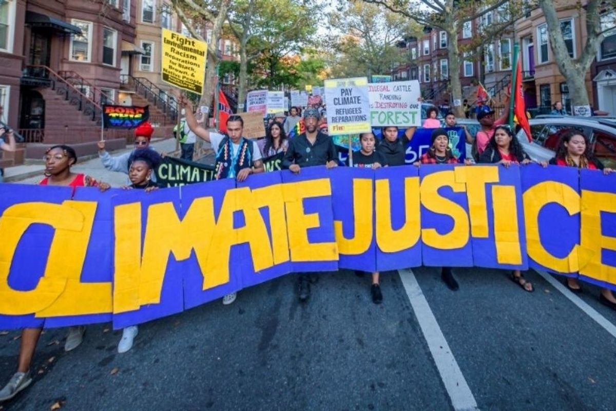 More than 115 groups call on the next president to take climate justice action 'from day one'