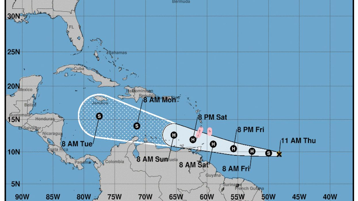 Gonzalo Could be First Atlantic Hurricane of the 2020 Season