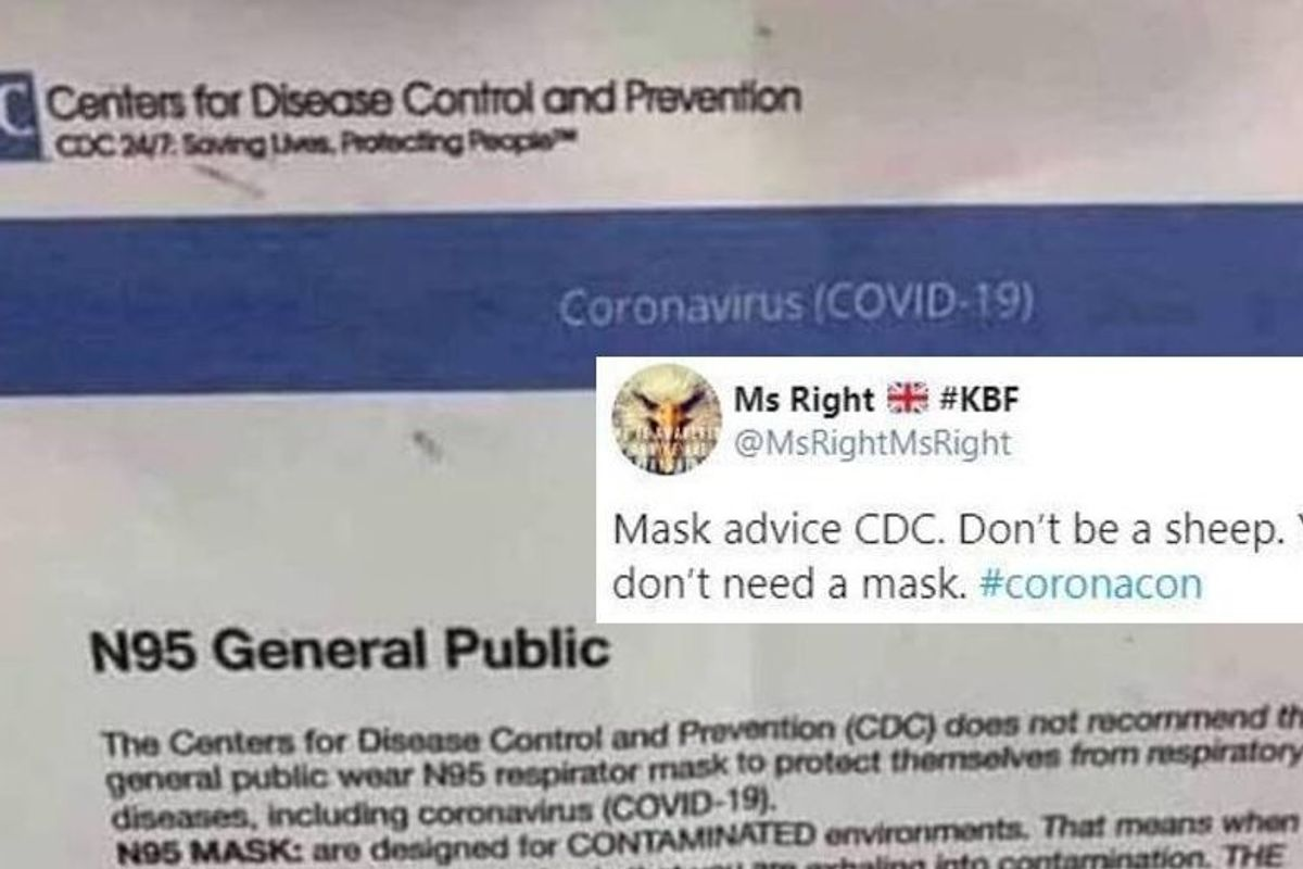 Anti-maskers are sharing a deadly coronavirus hoax on Facebook. Here's how to identify and stop it.
