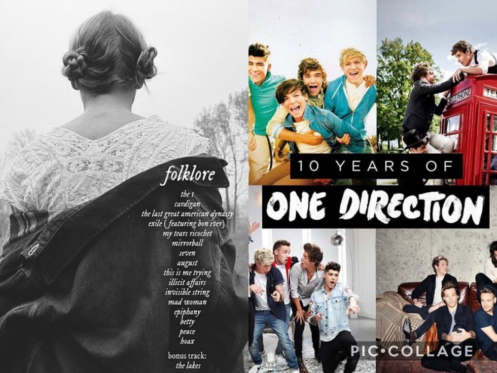 Folklore, 10 Years of 1D