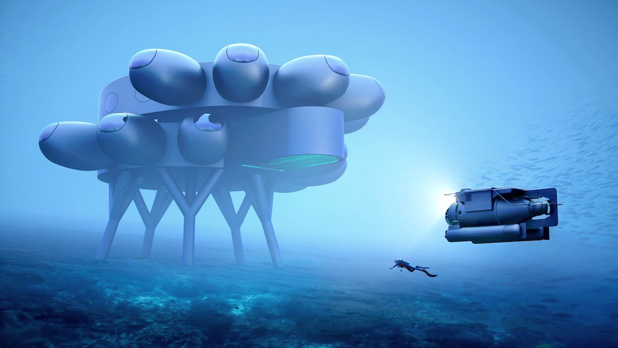 Proteus Unveiled: Fabien Cousteau's Underwater 'Space Station' Could Revolutionize Ocean Research