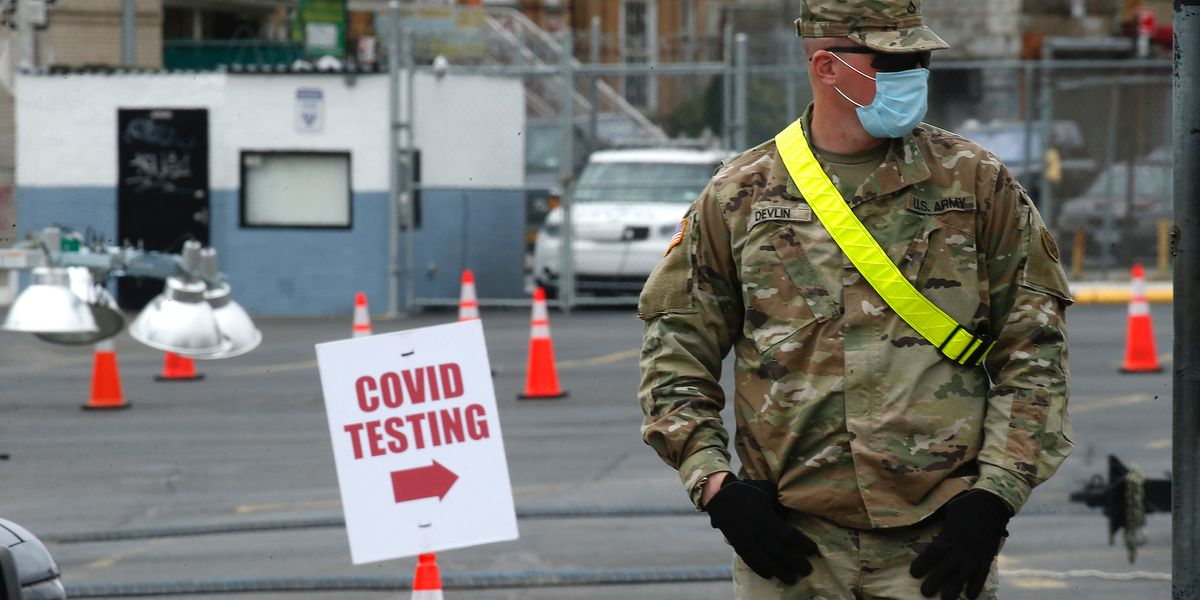 Health company apologizes for falsely telling 600,000 US military members they were infected with coronavirus