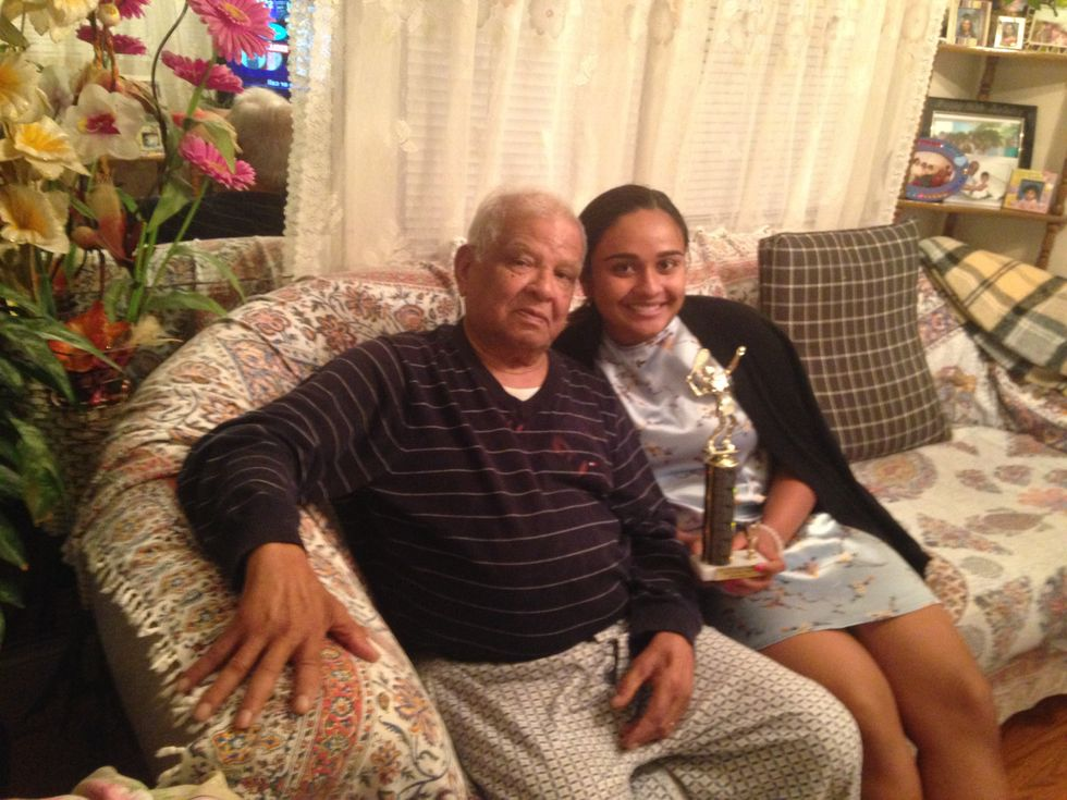 A Eulogy For My Grandfather, Michael Persaud