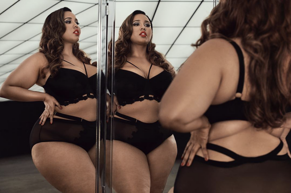 10 Curvy Women Of Color On Instagram Who Inspired Us All To Take More Confident Lingerie Selfies