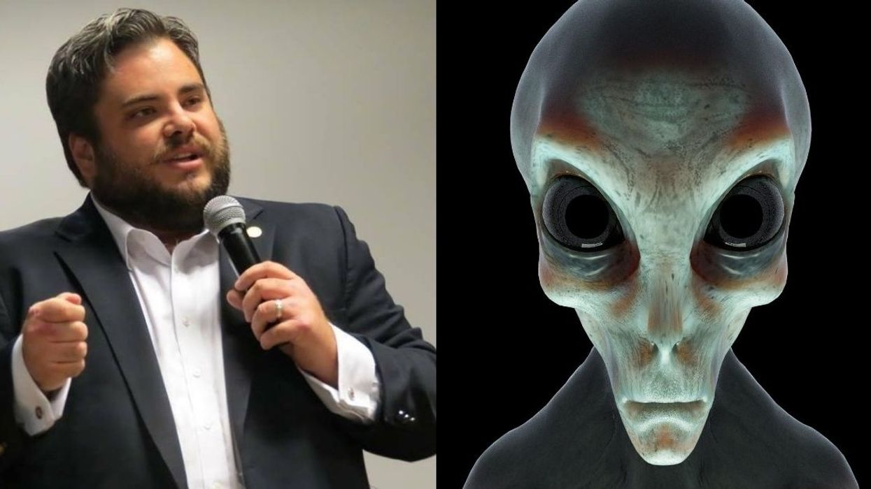 Texas GOP Lawmaker Roasted For Saying Aliens Will Need To Find 'Salvation Through Jesus'