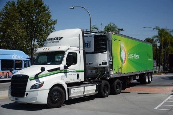 Penske Deploys Battery Electric Truck with Core-Mark