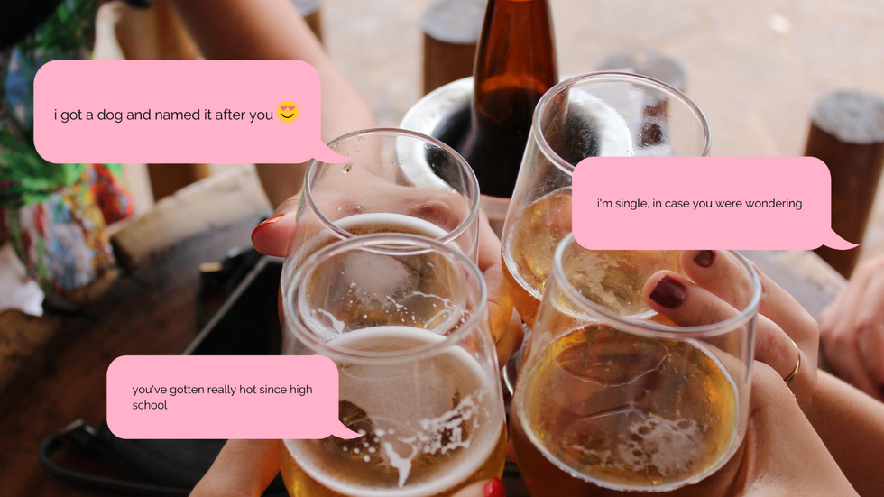 The Ultimate 'Text Or Drink' Game To Spice Up Your Next Girls' Night In With Your Single Friends