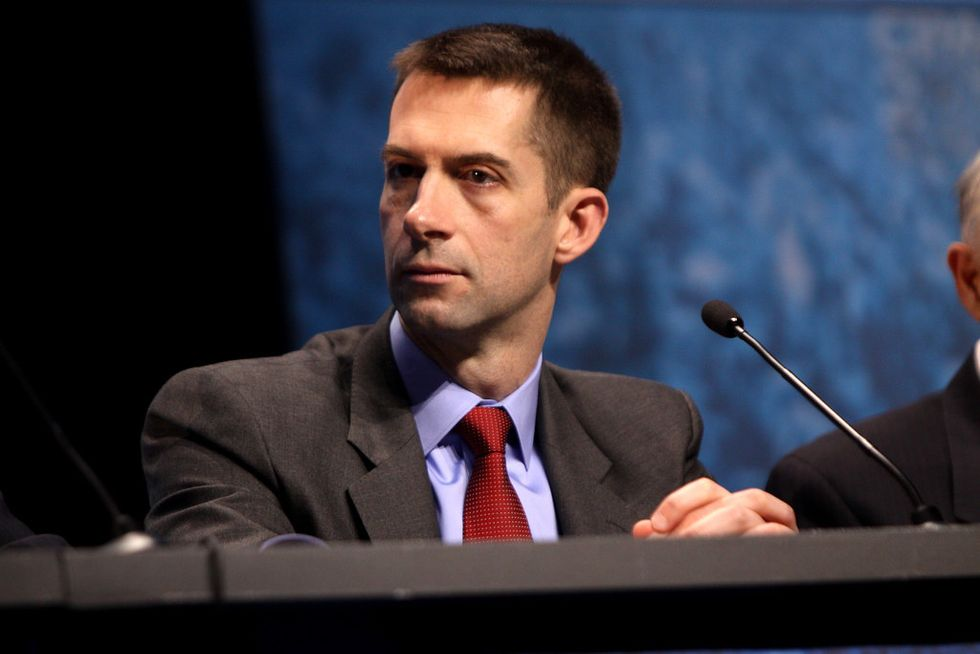 Slavery Is, Never Was, And Never Will Be A 'Necessary Evil' And Tom Cotton Is Racist If He Thinks It Was