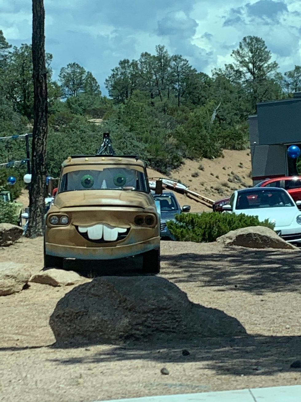 Image of Tow Mater from Cars