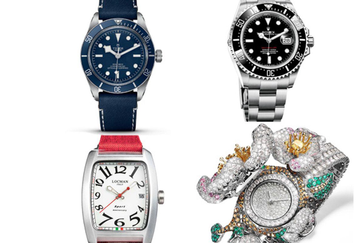 Velisti, dandy, sportivi o subacquei A ciascuno il lusso di fermare il tempo