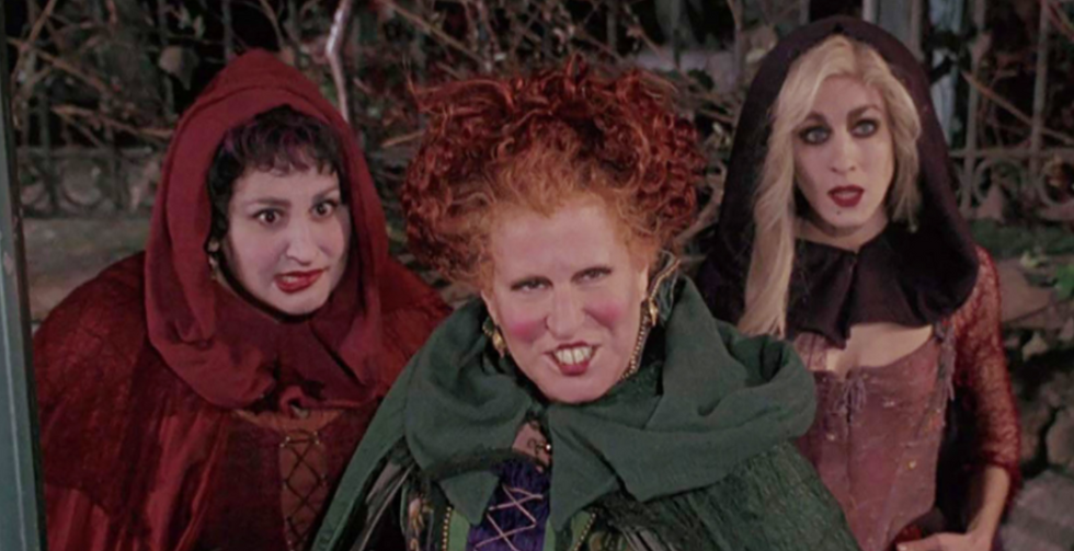 Come, Little Children, And Get Your Hands On This 'Hocus Pocus' Mug And Broomstick Spoon Set
