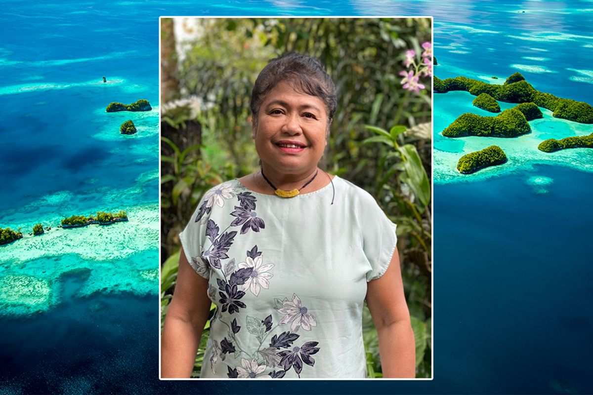 GOOD10 // The Oceans Issue // The Leader: First Lady of Palau,  Debbie M. Remengesau