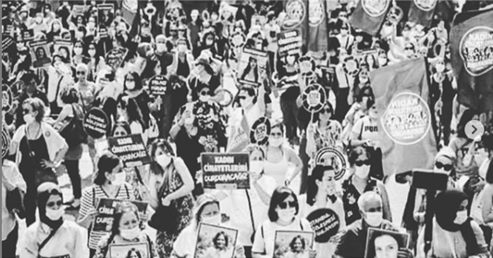Women Are Joining Forces To Fight Against Femicide In Turkey—And How You Can Help Too