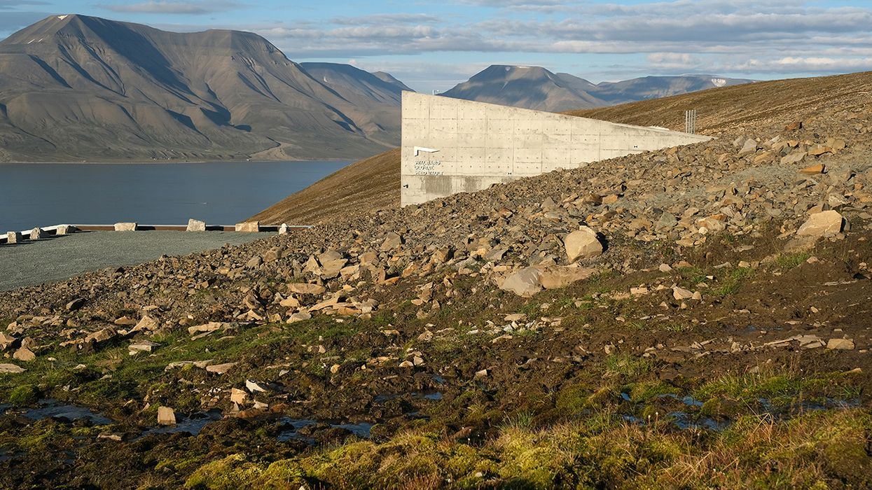 There's a Heatwave at the Arctic 'Doomsday Vault'