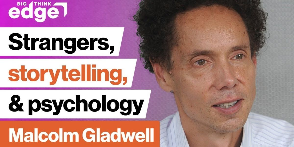 Malcolm Gladwell live! | Strangers, Storytelling, and Psychology
