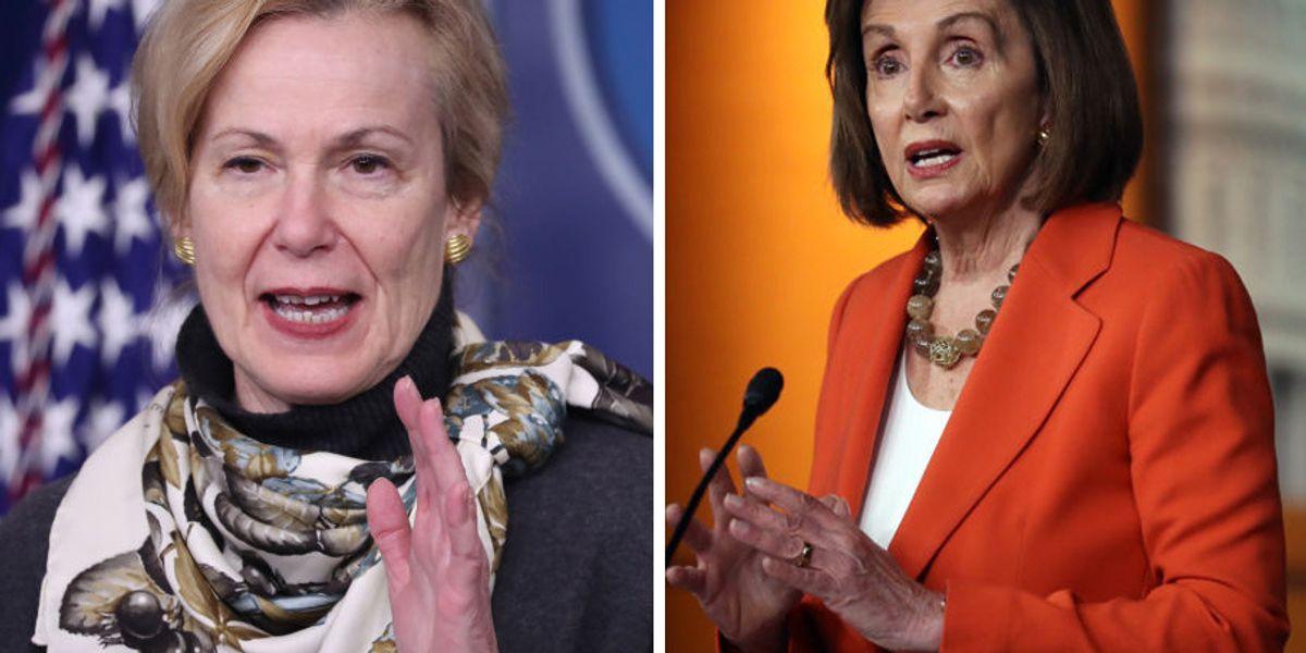 Dr. Birx fires back at Nancy Pelosi after Pelosi trash talks behind closed doors, lodges accusations