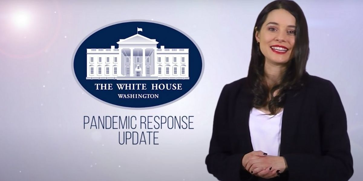 Parody 'White House' Video Hilariously Mocking Trump's Pandemic Response Hits A LIttle Too Close To Home
